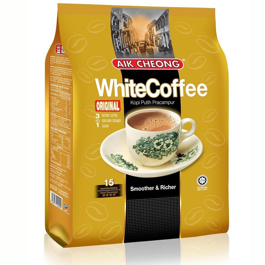 Aik Cheong 3in1 White Coffee Original Kopi Wihte
