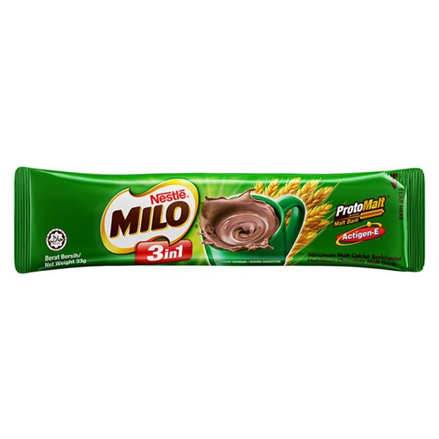 Image result for milo 3 in 1 sachet